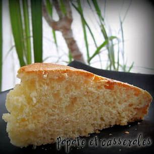 gâteau aux deux yaourts et à la crème de riz