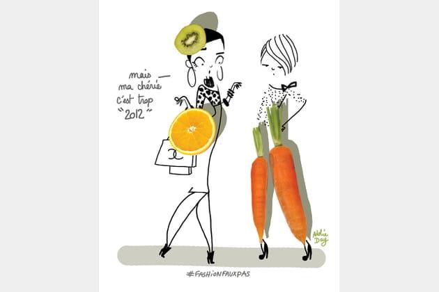 Gare au pantalon carotte