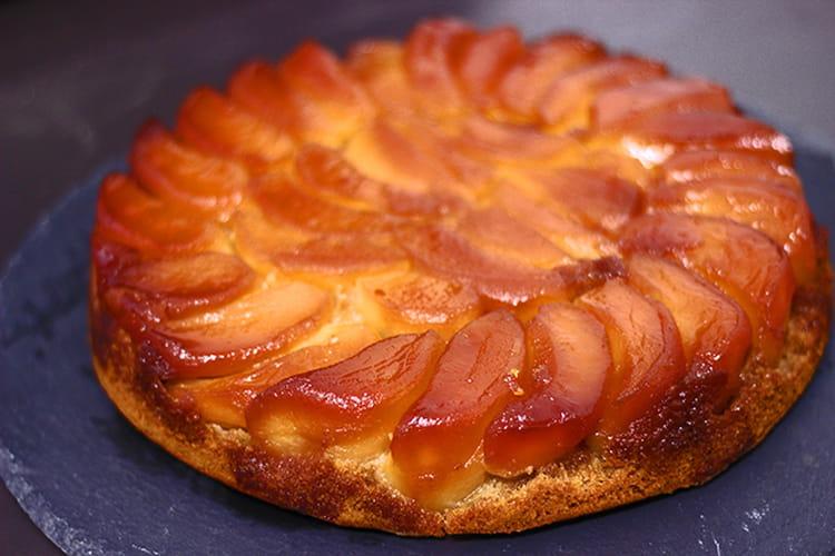 Gâteau tatin aux pommes décadant