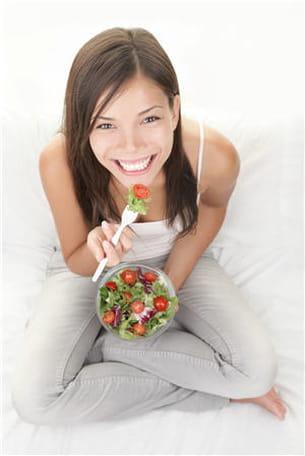commencez l'année avec une alimentation saine et équilibrée.