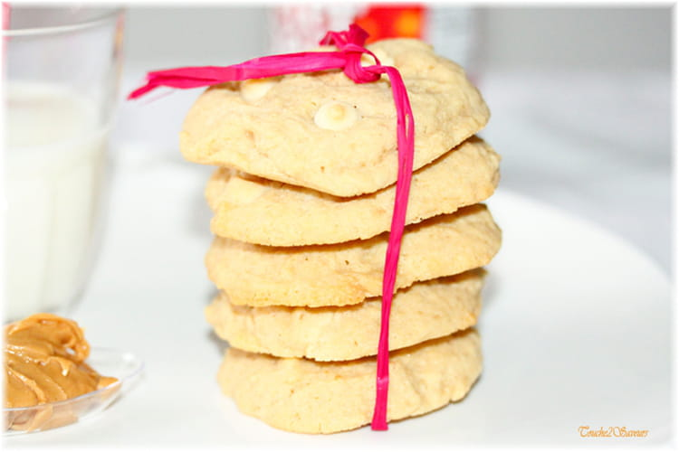Cookies au philadelphia et beurre de cacahuètes