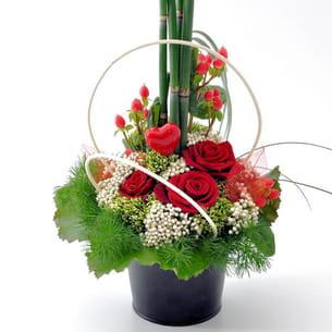 le classique rose saint valentin chaude passion