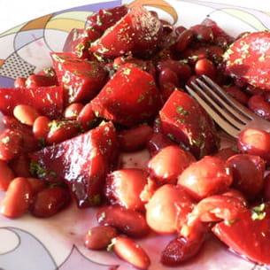 salade de betteraves rouges