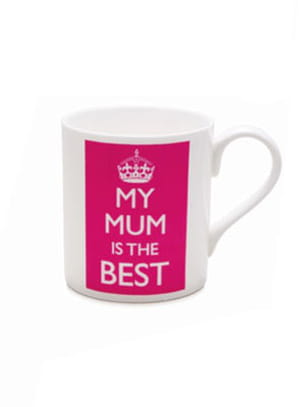 mug 'my mum is the best' de betjeman & barton