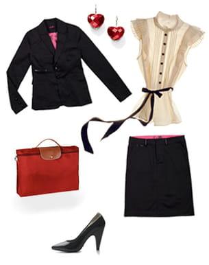 Look chic au bureau pour femme d 39 affaires parfaite - Look bureau femme ...