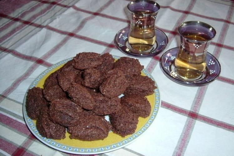 Macarons au chocolat revisités