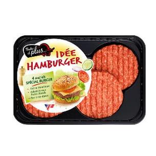 hachés spécial burger de tendre et plus