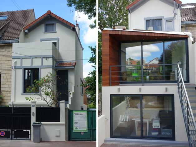 Une extension pour une nouvelle maison