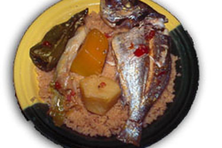 Couscous au poisson
