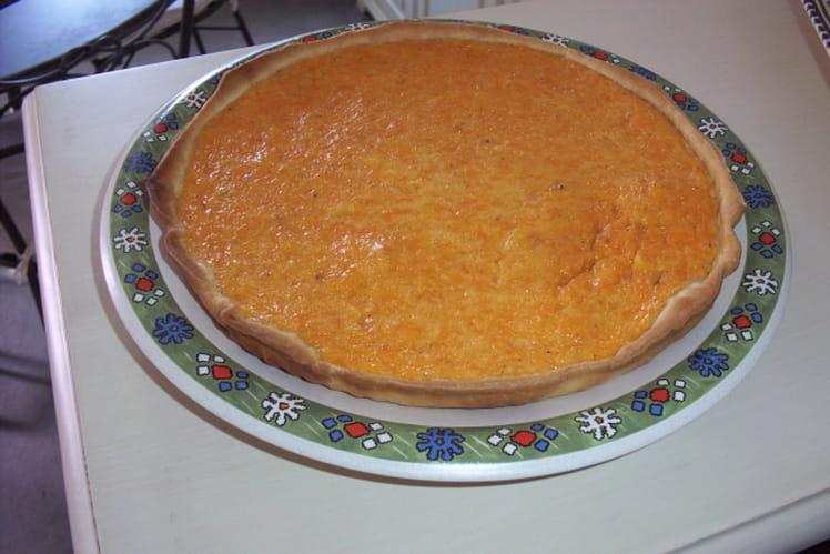 Tarte au potiron et écorces d'oranges confites