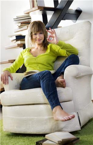 choisissez un fauteuil duquel il est aisé de se relever.