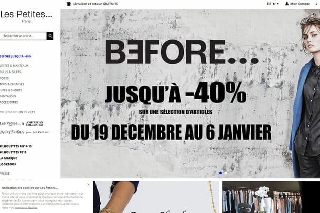Le e-shop de Les Petites...