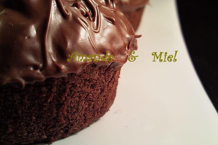 Muffins chocolat-noisettes au Nutella