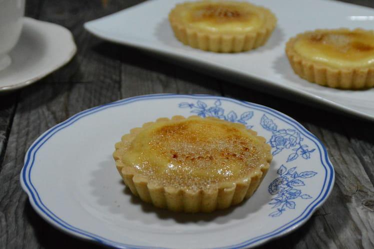 Crème brûlée façon tartelettes au citron