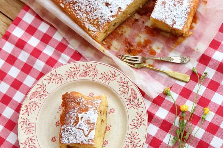 Gâteau aux pommes traditionnel