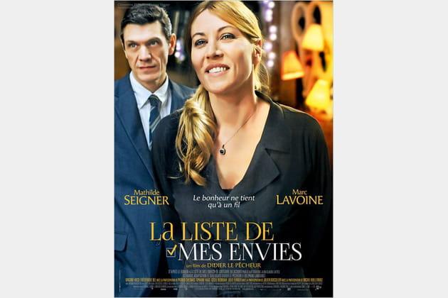 Mathilde Seigner, Marc Lavoine et La Liste de Mes Envies