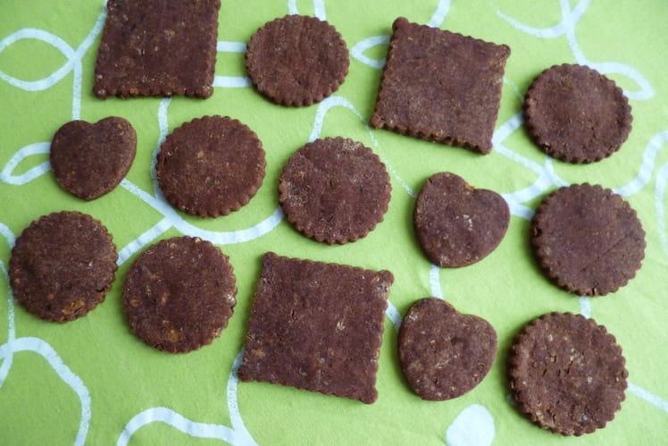 Biscuits hyperprotéinés châtaigne, cacao sans gluten