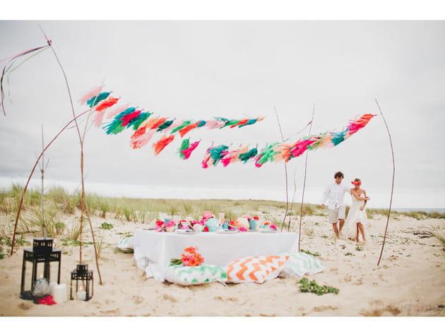 Shooting d'inspiration: un mariage 100% surf!