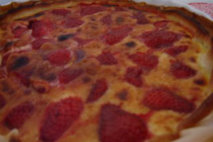 Tarte italienne aux fraises