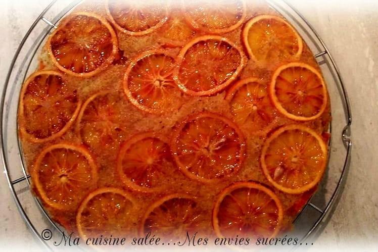 Gâteau aux oranges sanguines