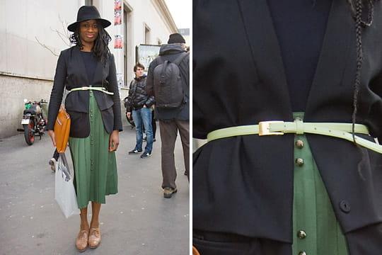 Fashion week : les street looks des défilés parisiens PAP automne-hiver 2011-2012 38