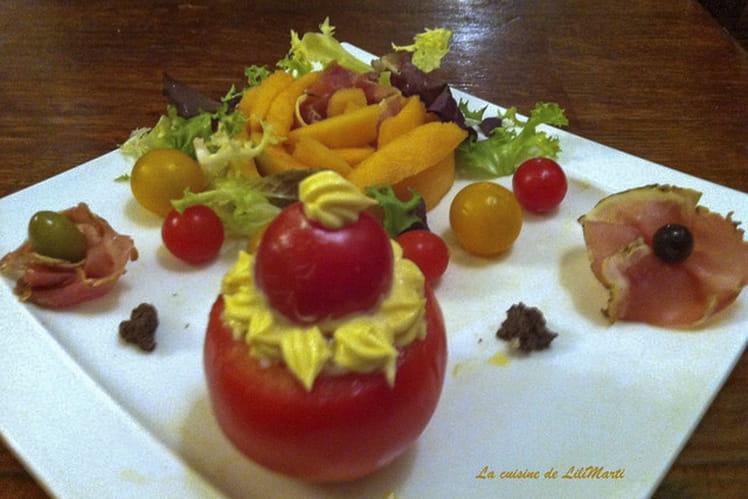 Profiteroles de tomate