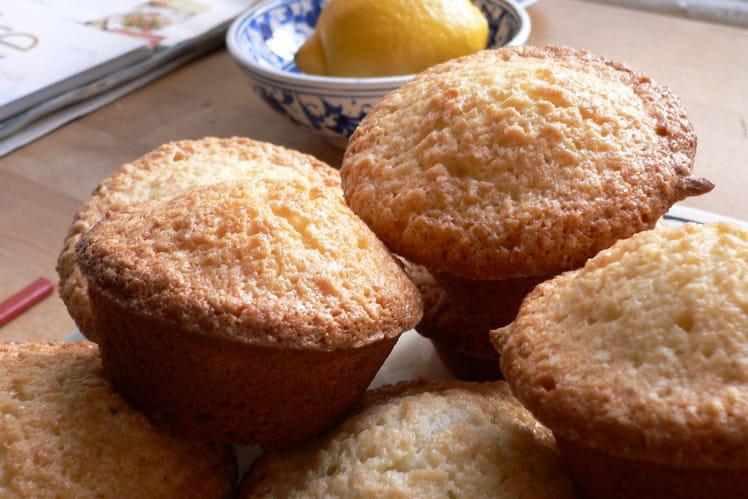 Muffins citron-basilic