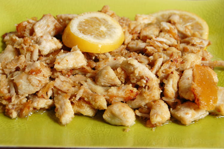 Poulet mariné au citron