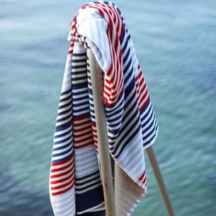 drap de plage marin de linum