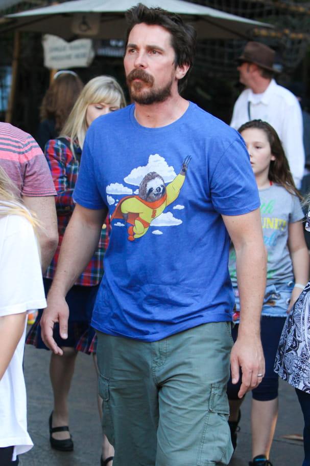 Christian Bale, super-héros paresseux qui aime les paresseux super-héros