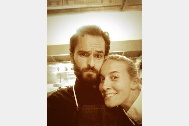 Yoni Saada et Amandine Chaignot, ensemble en cuisine