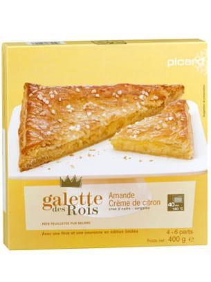 galette des rois amande et crème de citron de picard