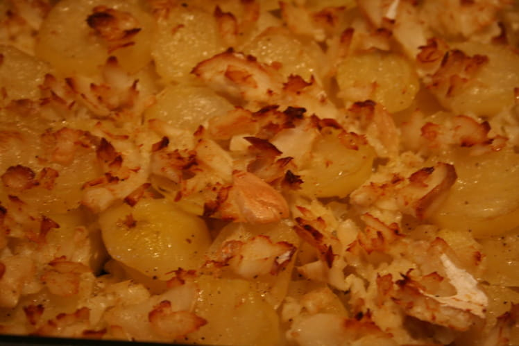 Morue aux pommes de terre