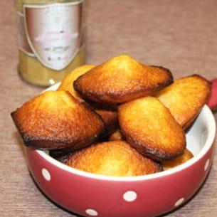 madeleines à la crème de nougat