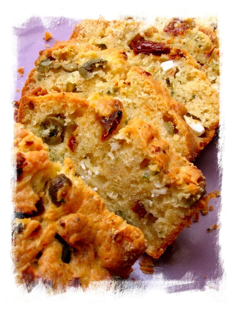 Recette Cake Olives Femmes Feta
