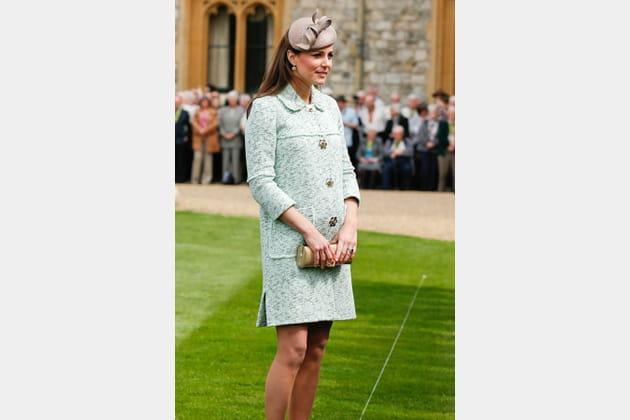 Kate Middleton le 21avril 2013