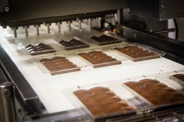 Reportage chocolatier Patrice Chapon : tablettes
