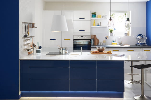 cuisine delinia graphic de leroy merlin. Black Bedroom Furniture Sets. Home Design Ideas