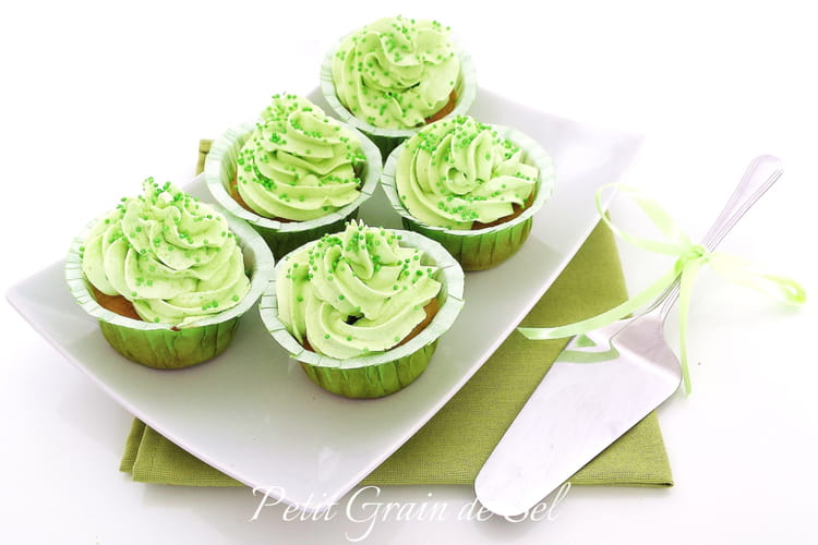 Cupcakes à la pomme verte