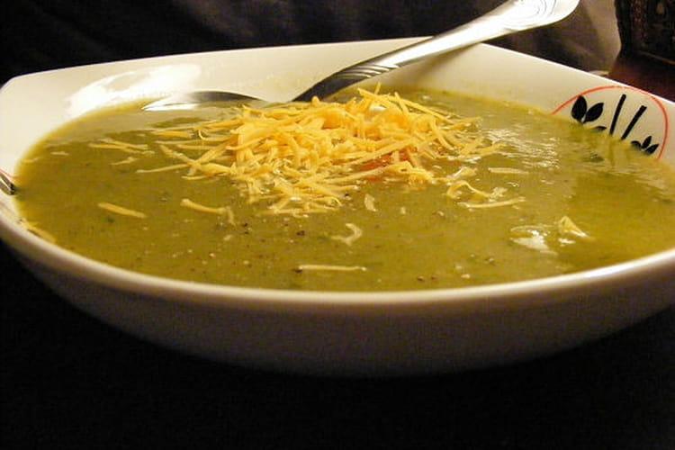 Soupe de légumes vitaminée