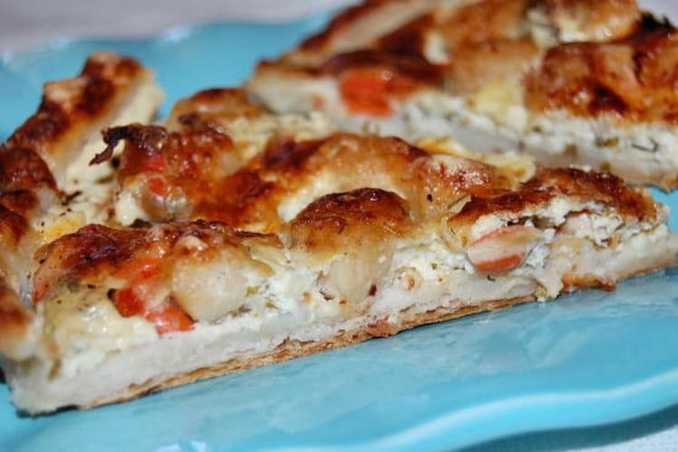 Recette de tarte aux noix de saint jacques la recette facile - Cuisiner les noix de saint jacques ...