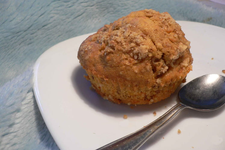 Muffins complets carottes-noix