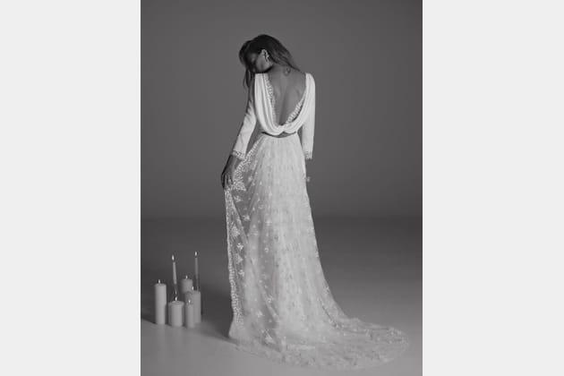 Robe de mariée Suki, de dos