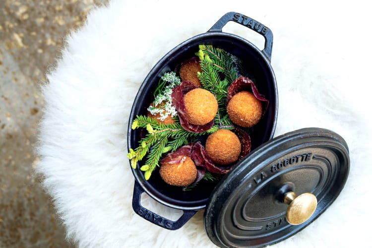 Les croquettes de fondue du chef vincenzo regine