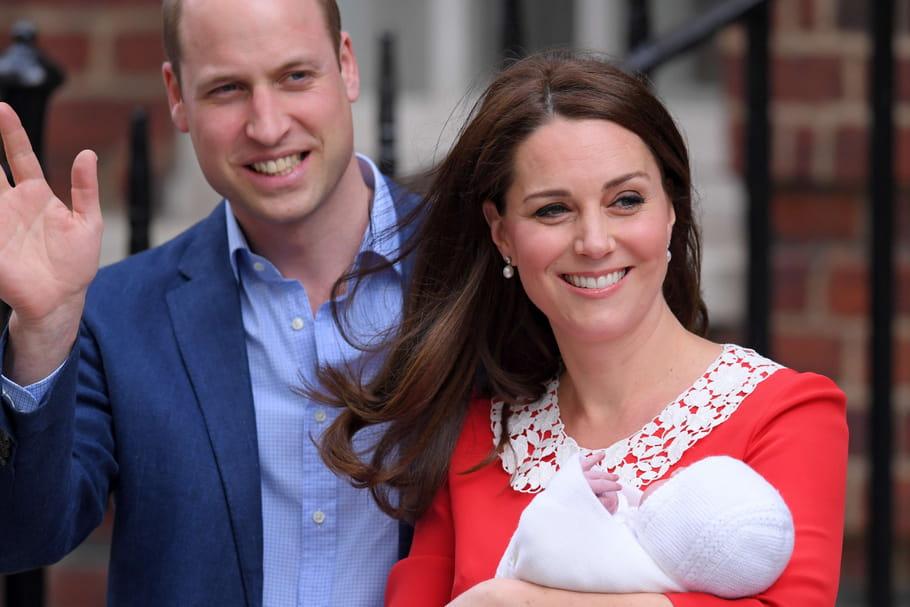 L'accouchement de Kate Middleton et la naissance du prince Louis