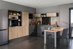 effet noir esprit bistrot. Black Bedroom Furniture Sets. Home Design Ideas