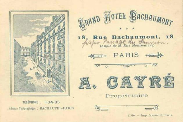 Bachaumont, au cœur de l'histoire parisienne