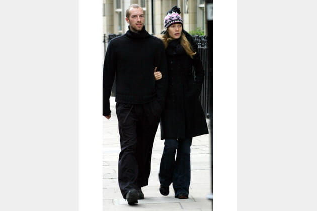 Gwyneth Paltrow et Chris Martin flânent à Londres