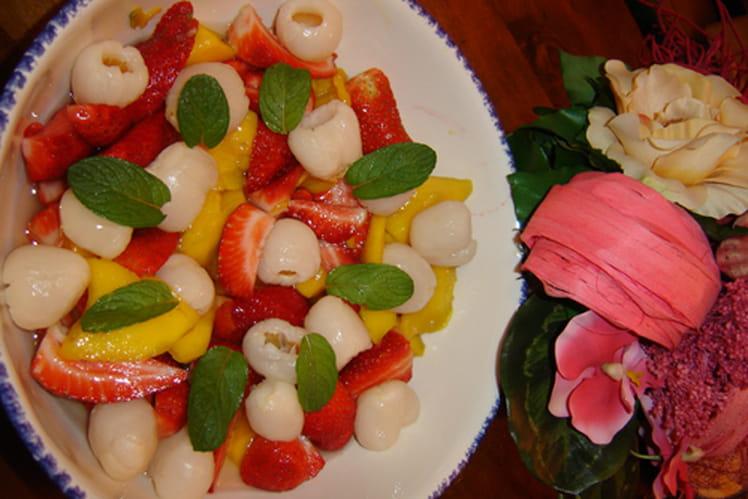 Salade de fruits d'ici et d'ailleurs