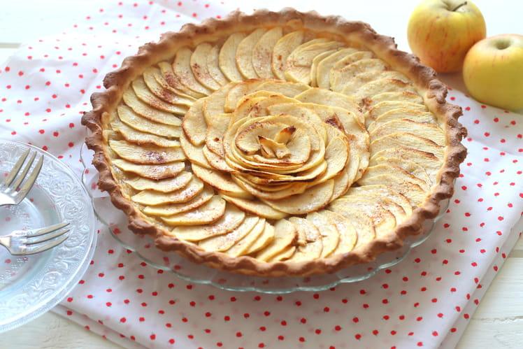 Tarte aux pommes à la pâte maison